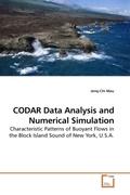 Mau, Jenq-Chi: CODAR Data Analysis and Numerical Simulation