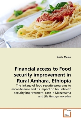 Financial access to Food security improvement in Rural Amhara, Ethiopia - The linkage of food security programs to micro-finance and its impact on households' security improvement, case in Menzmama and Jile timuga woredas - Mamo, Abate