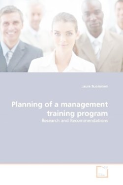 Planning of a management training program