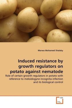 Induced resistance by growth regulators on potato against nematode