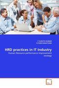 SURJITH KUMAR, P;PANCHANATHAM, N.: HRD practices in IT Industry