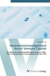 Innovationsmanagement durch Venture Capital - Maximilian Erb
