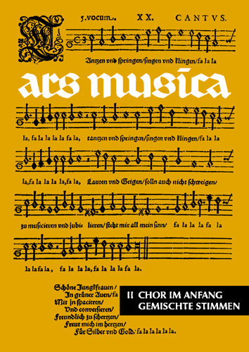 Ars Musica Band 2 Chor im Anfang - Wolters, Gottfried (Hrsg.)