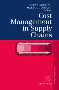 Cost Management in Supply Chains - Stefan Seuring