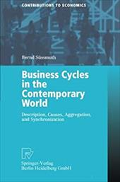 Business Cycles in the Contemporary World: Description, Causes, Aggregation, and Synchronization - Sussmuth, Bernd / Sussmuth, B. / S]ssmuth, Bernd