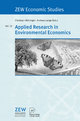 Applied Research in Environmental Economics - Christoph Böhringer; Andreas Lange