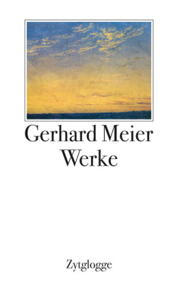 Werke 1 bis 4 Gerhard Meier: Schuber