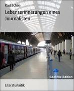 Karl Schön: Lebenserinnerungen eines Journalisten