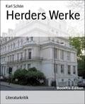 Herders Werke - Karl Schön