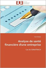 Analyse de Sante Financiere D'Une Entreprise - Tarik Kebabi