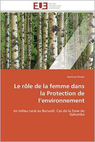 Le Role de La Femme Dans La Protection de L'Environnement - Hermine Phoba