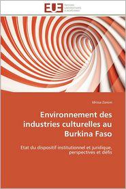 Environnement Des Industries Culturelles Au Burkina Faso - Idrissa Zorom