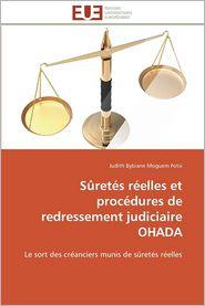 Suretes Reelles Et Procedures de Redressement Judiciaire Ohada