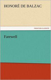 Farewell - Honore de Balzac