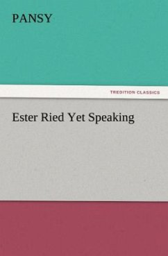 Ester Ried Yet Speaking - Pansy
