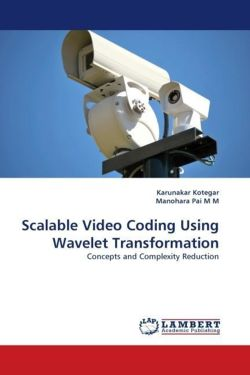 Scalable Video Coding Using Wavelet Transformation