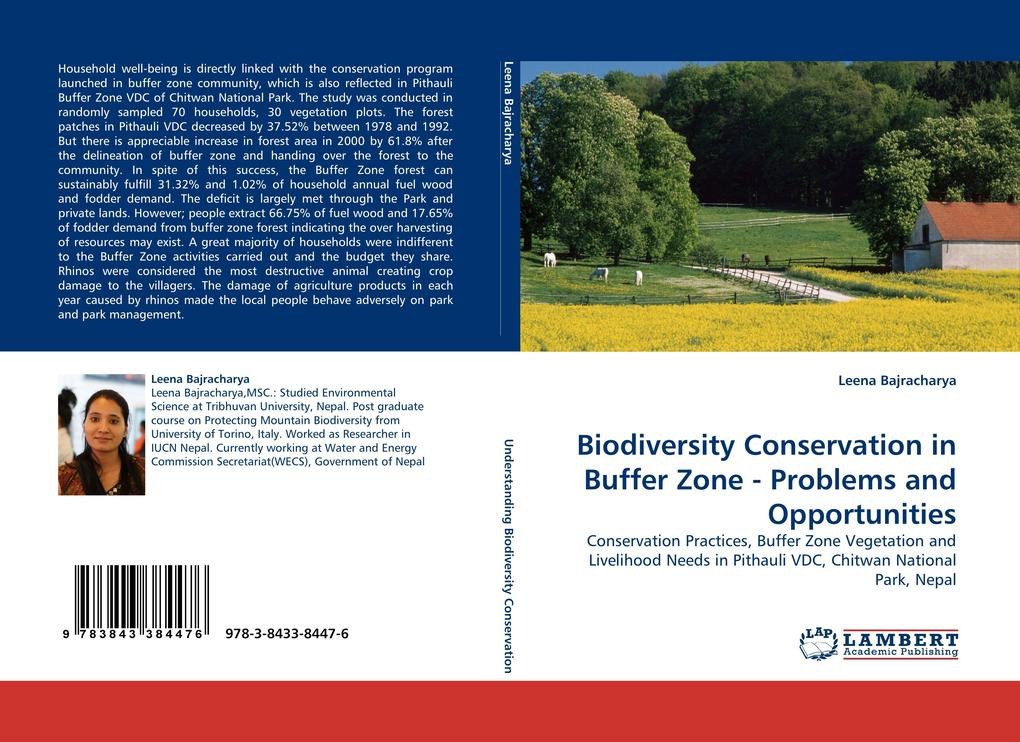 Biodiversity Conservation in Buffer Zone - Problems and Opportunities als Buch von Leena Bajracharya - LAP Lambert Acad. Publ.