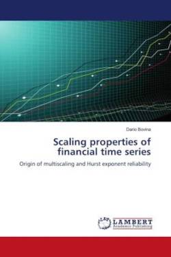 Scaling properties of financial time series