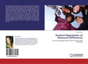 Rozar, Tanna: Student Negotiation of Discourse Differences