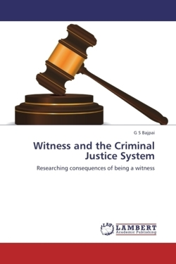 Witness and the Criminal Justice System