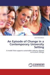 An Episode of Change in a Contemporary University Setting - Joan Richardson