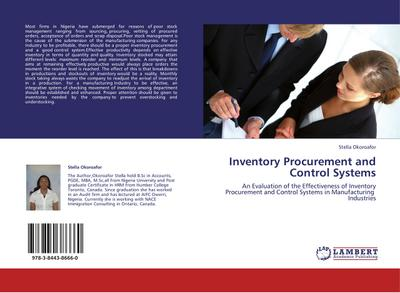 Inventory Procurement and Control Systems - Stella Okoroafor