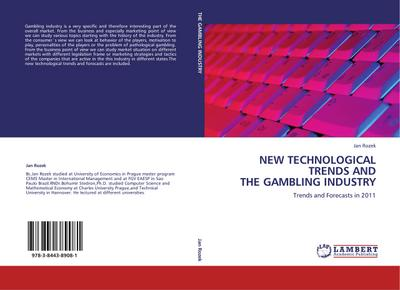 NEW TECHNOLOGICAL TRENDS AND THE GAMBLING INDUSTRY - Jan Rozek