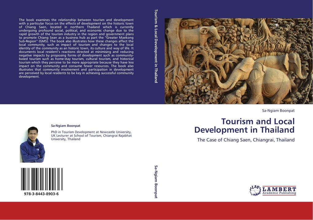 Tourism and Local Development in Thailand als Buch von Sa-Ngiam Boonpat - LAP Lambert Acad. Publ.