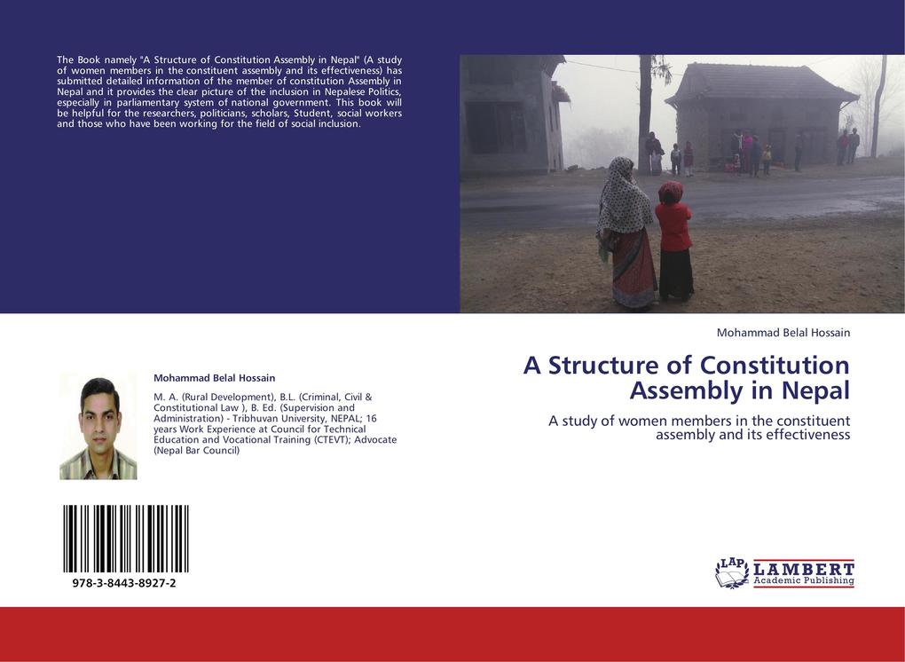 A Structure of Constitution Assembly in Nepal als Buch von Parashuram Rupakheti - LAP Lambert Acad. Publ.