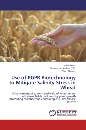 Use of PGPR Biotechnology to Mitigate Salinity Stress in Wheat als Buch von Allah Ditta, Muhammad Arshad (T. I. ), Wazir Ahmed - LAP Lambert Acad. Publ.