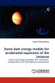 Some dark energy models for accelerated expansion of the Universe - Surajit Chattopadhyay