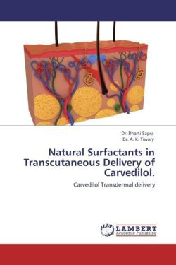 Natural Surfactants in Transcutaneous Delivery of Carvedilol.