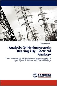 Analysis Of Hydrodynamic Bearings By Electrical Analogy