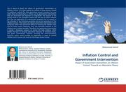 Ashraf, Mohammad: Inflation Control and Government Intervention