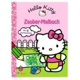 Hello Kitty: Zauber-Malbuch