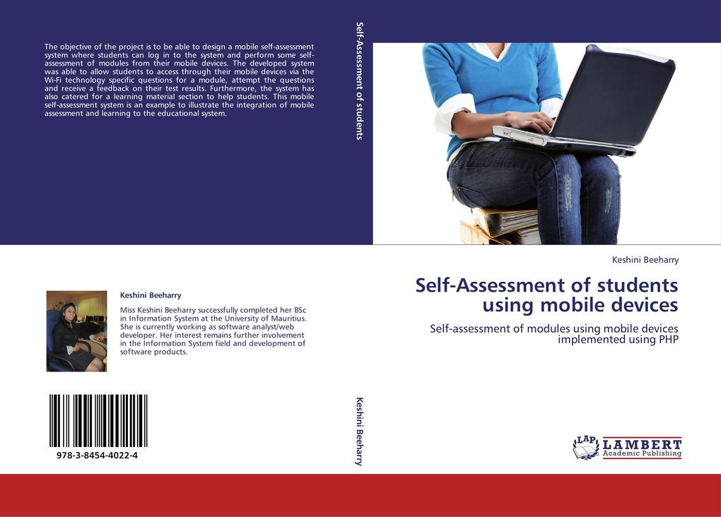 Self-Assessment of students using mobile devices als Buch von Keshini Beeharry - LAP Lambert Acad. Publ.