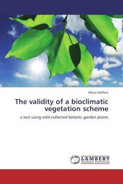 The validity of a bioclimatic vegetation scheme