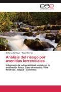Olaya, Esther Julia;Barrios, Miguel: Análisis del riesgo por avenidas torrenciales