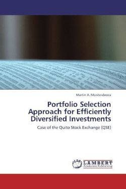 Portfolio Selection Approach for Efficiently Diversified Investments