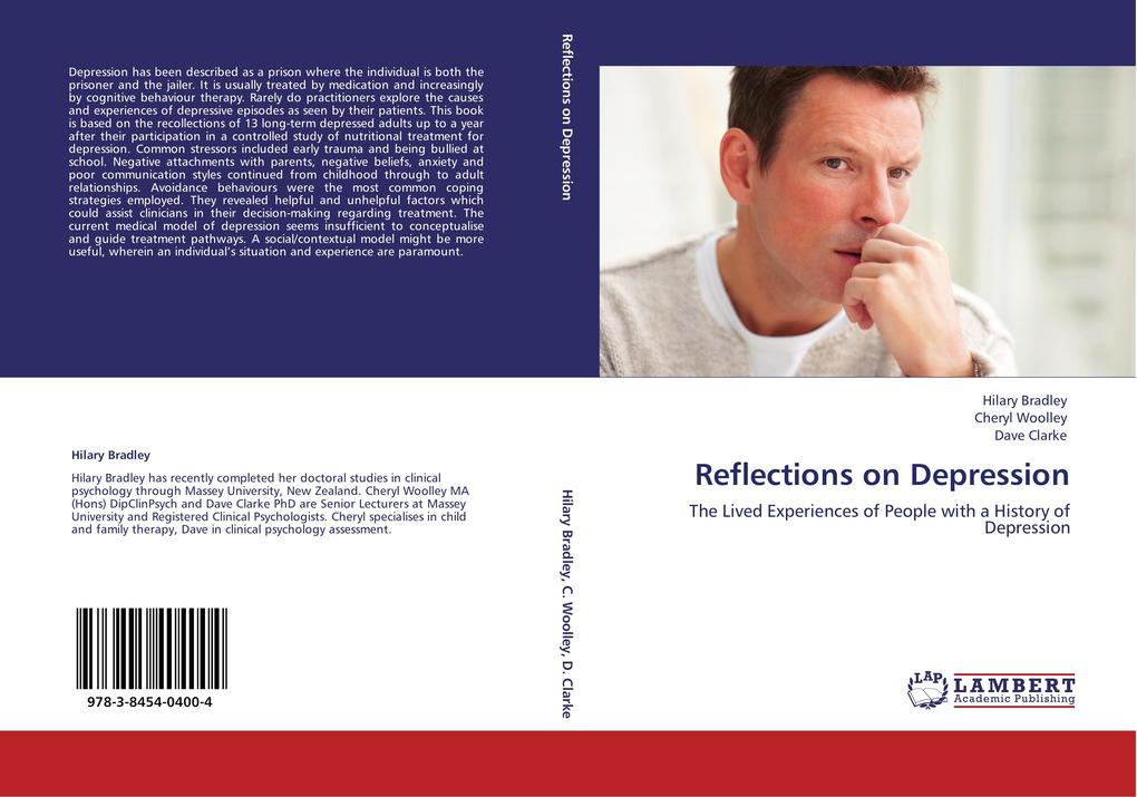 Reflections on Depression als Buch von Hilary Bradley, Cheryl Woolley, Dave Clarke - LAP Lambert Academic Publishing