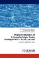 Implementation of integrated river basin management - local context - Md. Abdullah Abraham Hossain; Dr. Mazlin Bin Mokhtar; Dr. Mohd. Ekhwan Hj. Toriman