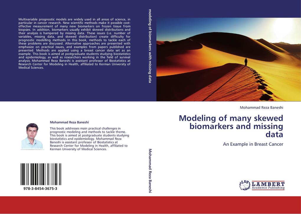 Modeling of many skewed biomarkers and missing data als Buch von Mohammad Reza Baneshi - LAP Lambert Acad. Publ.