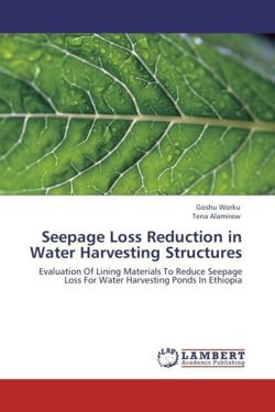 Seepage Loss Reduction in Water Harvesting Structures