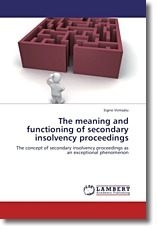 The meaning and functioning of secondary insolvency proceedings