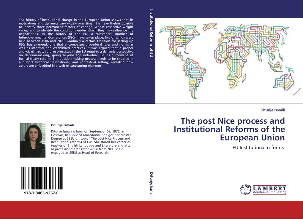The post Nice process and Institutional Reforms of the European Union als Buch von Diturije Ismaili - LAP Lambert Academic Publishing