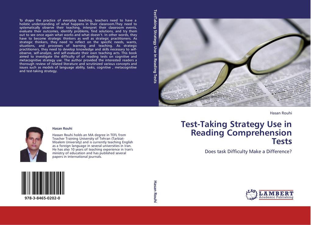 Test-Taking Strategy Use in Reading Comprehension Tests als Buch von Hasan Rouhi - LAP Lambert Acad. Publ.