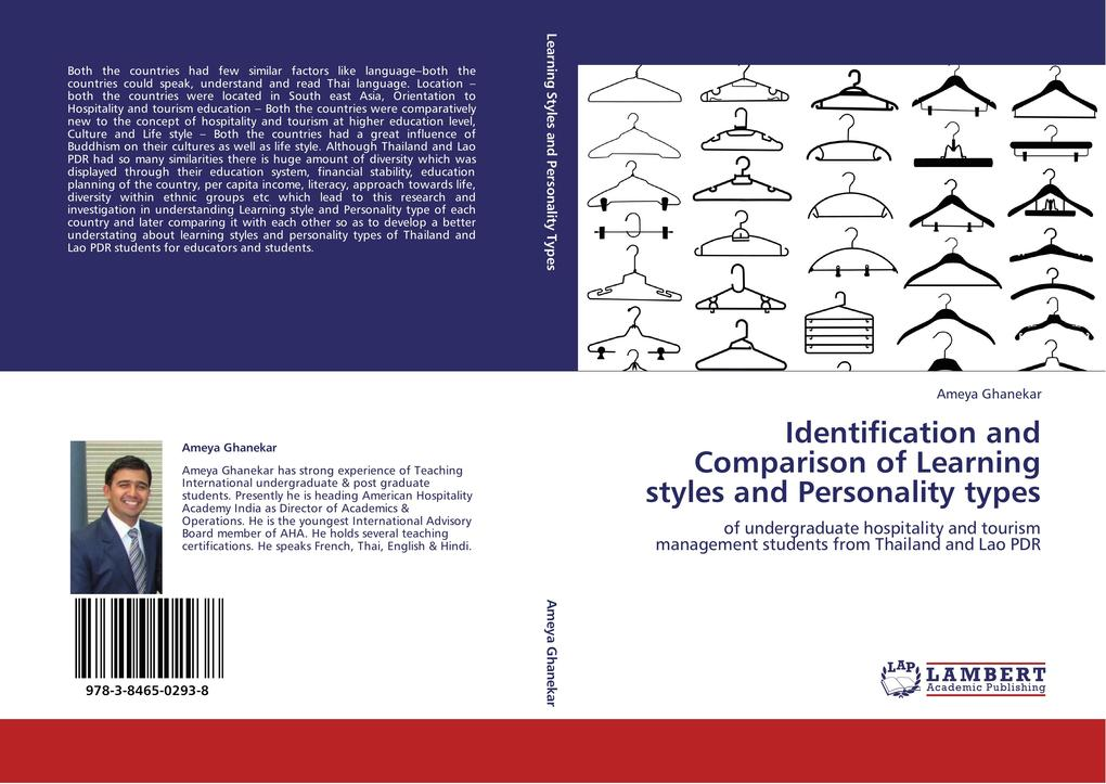 Identification and Comparison of Learning styles and Personality types als Buch von Ameya Ghanekar - LAP Lambert Acad. Publ.
