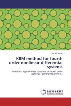 KBM method for fourth order nonlinear differential systems