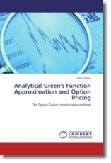 Analytical Green's Function Approximation and Option Pricing