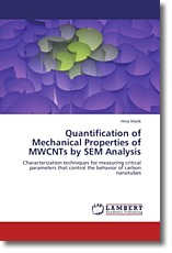 Quantification of Mechanical Properties of MWCNTs by SEM Analysis